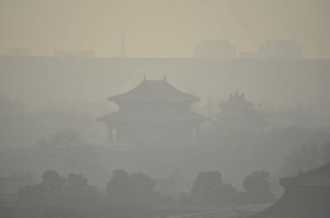 Ученые исследовали Пекинский смог