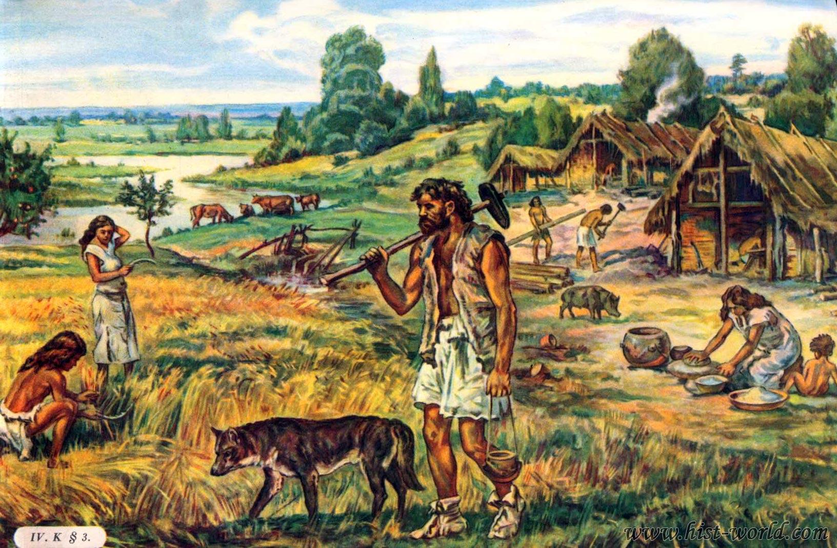 Скотоводы и земледельцы