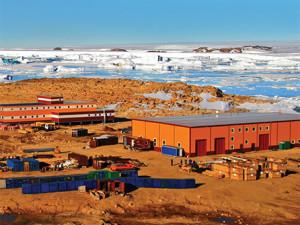 Антарктическая геологическая база «Прогресс» принимает гостей