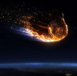 Яркость свечения метеорита была схожа с лунной