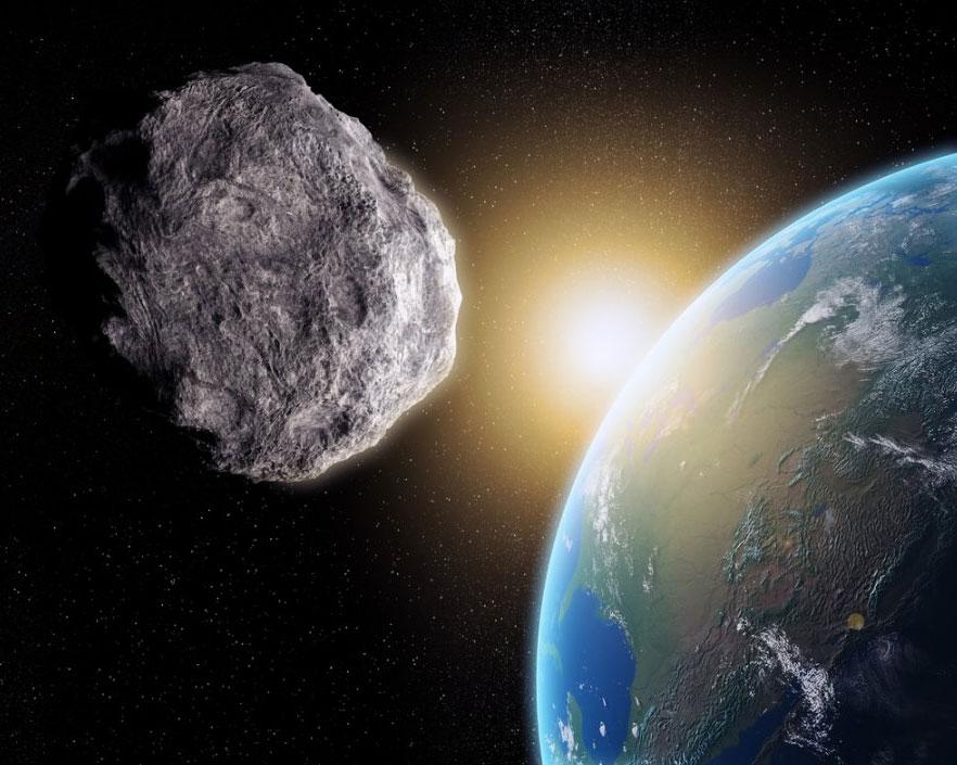 сбить астероид ракетой