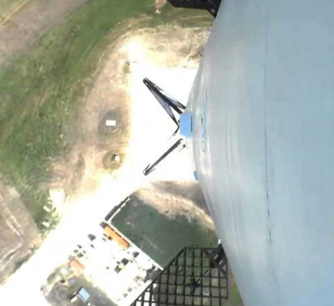 видеокамера на ракете