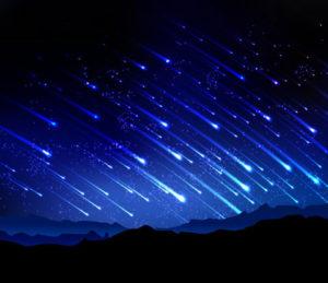 Самый яркий звездопад года из окон квартир