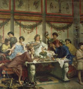 Пища и кухня римлян