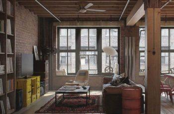 Оформление интерьера мебелью в стиле Лофт